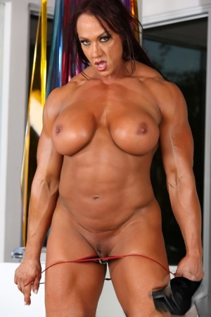 Hairy Mature Bodybuilder