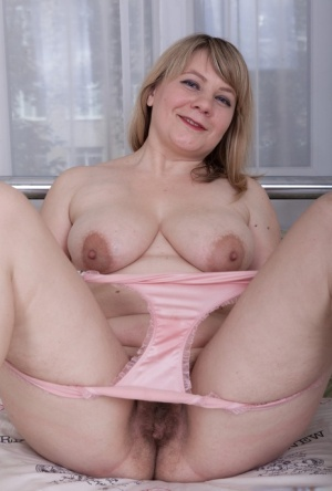 Hairy Mature Pussy In Panties