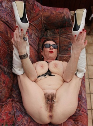 Hairy Mature In Boots