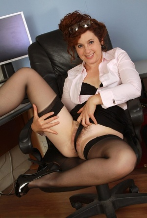 Clothed Hairy Mature